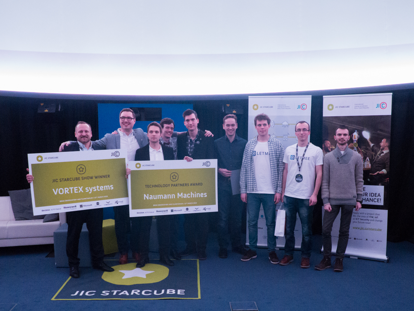 Participants of JIC STARCUBE Show 2018